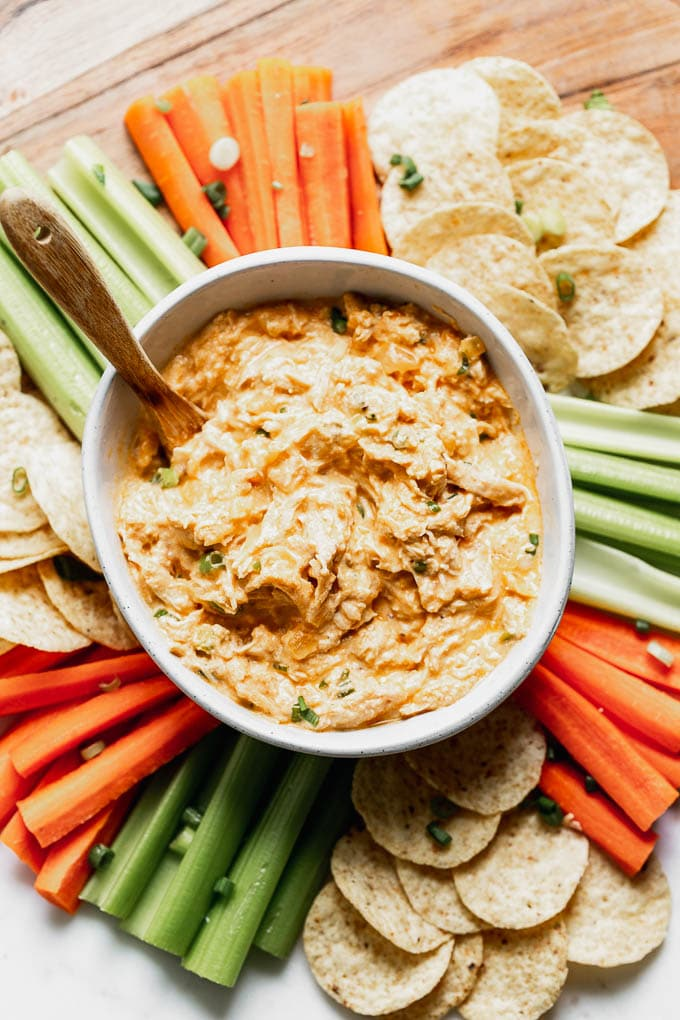 Buffalo Chicken Dip Without Cream Cheese