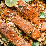 Pad Thai Salmon