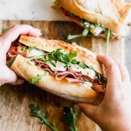 Jambon Beurre Sandwich (Ham, Butter and Brie Sandwich)