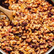Healthier Chili Mac Recipe