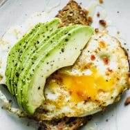 Favorite Avocado Toast with Egg