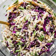 Cold Orzo Salad with Sesame