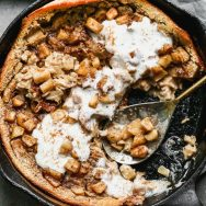 Caramel Apple Clafoutis Recipe