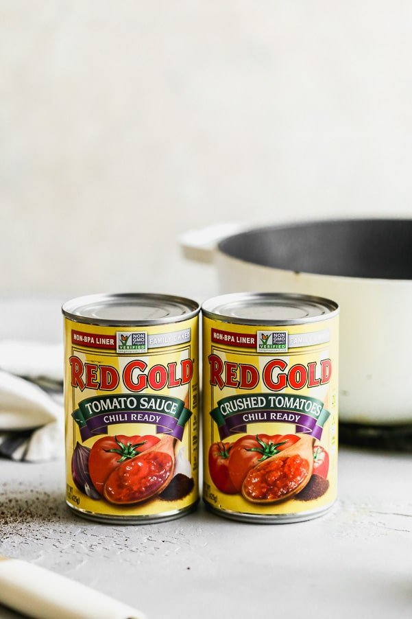 Red Gold Tomato Sauce and Crushed Tomatoes