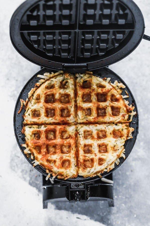 Waffle Hash Browns