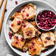 Crispy Potsticker Brie Bites (5 Ingredients!)