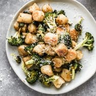Lemony Brown Butter Gnocchi