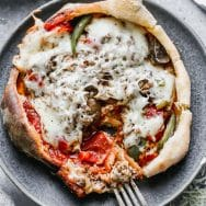 Supreme Pizza Pot Pie