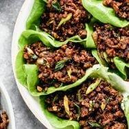Bulgogi Beef Lettuce Wraps