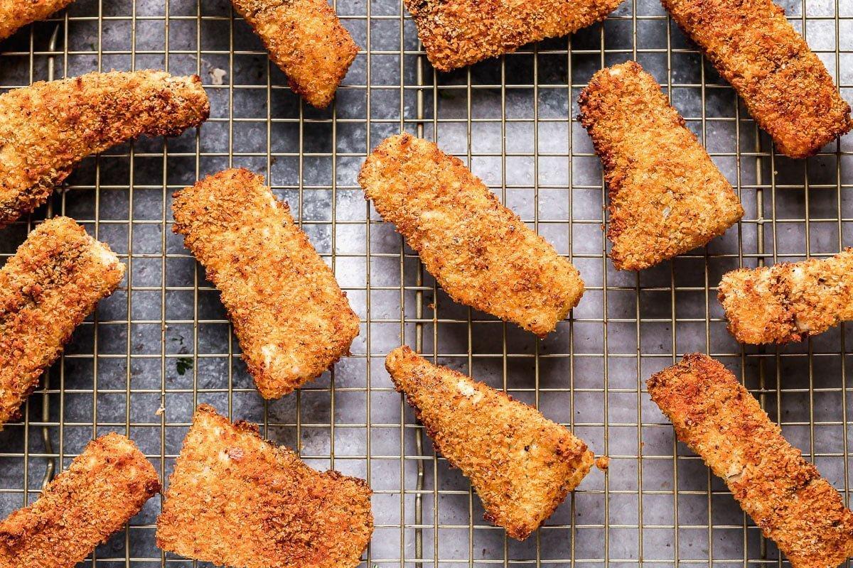 Crispy breaded fish